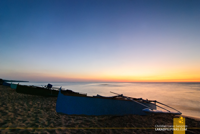 Patar White Beach Bolinao Sunset