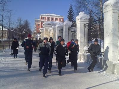 23-го февраля по всей России прошли акции здоровой молодёжи - Вятка