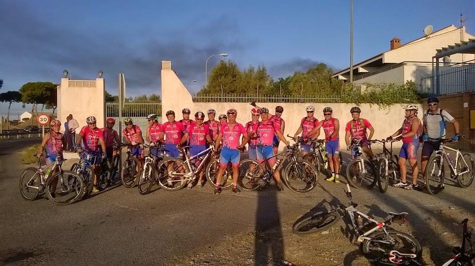 Salida de la II Ruta Alpujarreña - Chanata Bike
