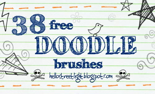 38 Free Doodle Brushes