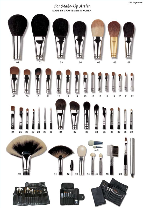 essential makeup brushes. natural makeup brush. get good