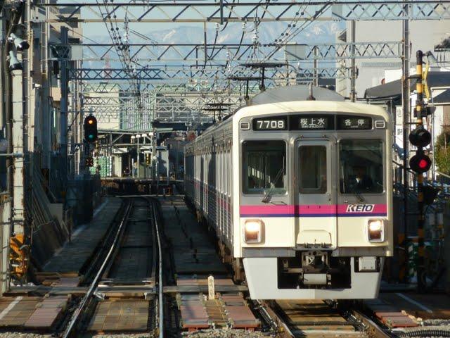 京王電鉄 桜上水行き 7000系(土日早朝1本運行)