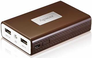 Apacer Power Bank B123 and B124