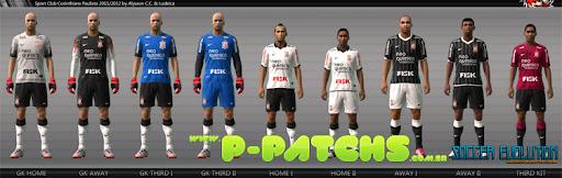 Corinthians 11-12 Kitset para PES 2011 PES 2011 download P-Patchs