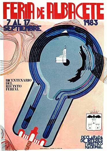 Cartel Feria Albacete 1983