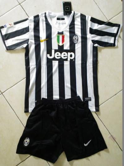 Jual Jersey Bola Anak Juventus Home 2014