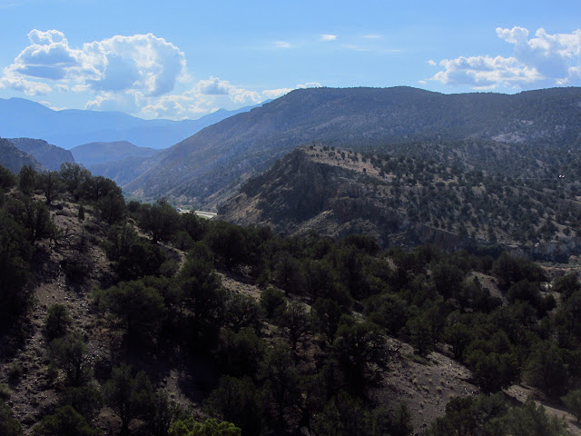 canyon to the east