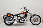 1981 FXWG Harley-Davidson Shovelhead Black With Gold Flames P12033A