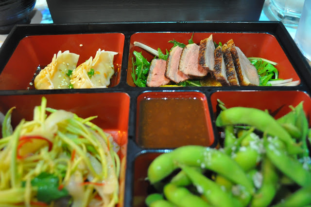 Inamo+review+Wardour+Street+Japanese+food+lunch+bento+set