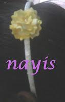 Cintillos  Diademas Decorados con Flores masa flexible porcelana fria