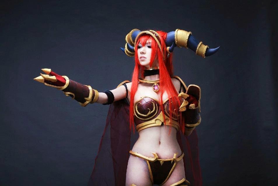 World of Warcraft: Vẻ đẹp của nữ hoàng Alexstrasza - Ảnh 3