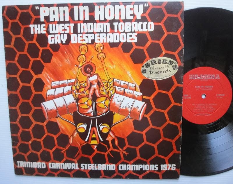 Gay Desperados Pan In The Honey Lp Trinidad Carnival Steel Band Ebay