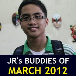JR's Buddies of March 2012