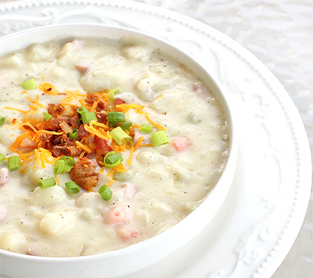 Delicious Ham and Potato Soup Recipes