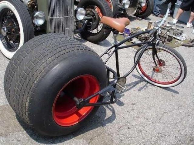 велосипедные приколы супербайк