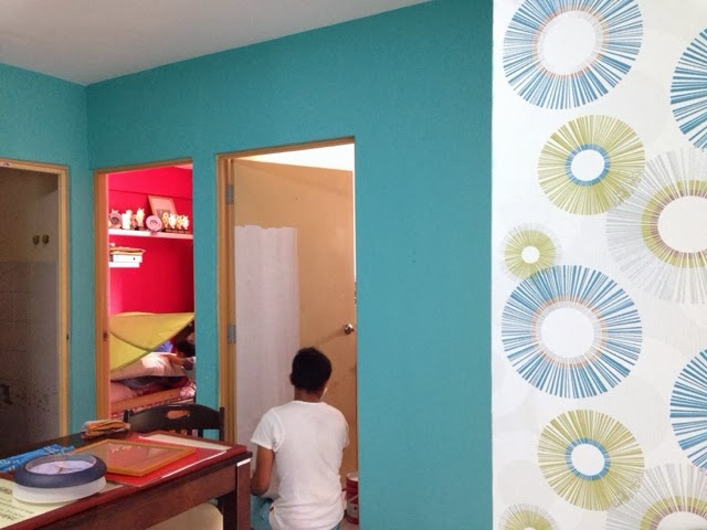 ambrynaa's photo diary: House Makeover part 2 ~ Painting