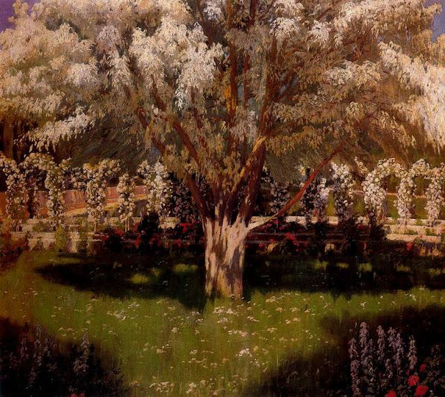 Santiago Rusiñol - Primavera