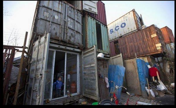 ... : Serius Sadis - Rumah Kontena Rakyat Miskin Di Shanghai (8 Gambar