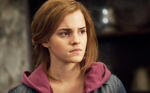Ema Watson in Deathly Hallows Part 2