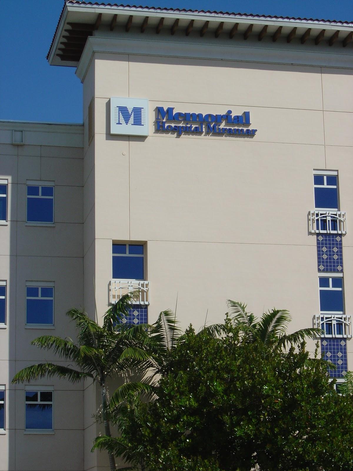 City Of Miramar Florida Memorial Hospital Miramar