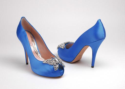 Royal Blue Wedding Heels: Bridal Style And Wedding Ideas: Perfect Royal Blue Wedding