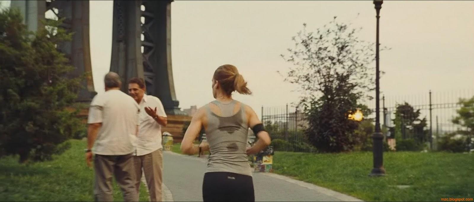 Hilary Swank Running