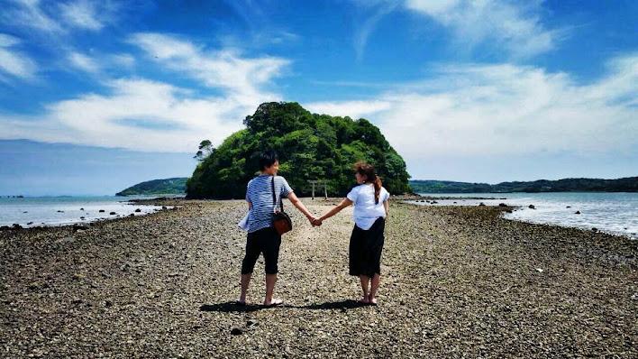 小島神社で恋愛祈願
