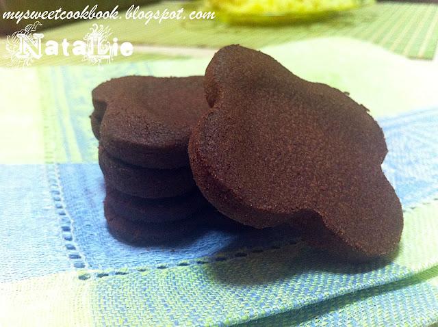 Рецепт №11: Шоколадно-кофейное печенье