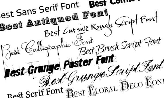 Font Gratis: Ecco dove trovarli