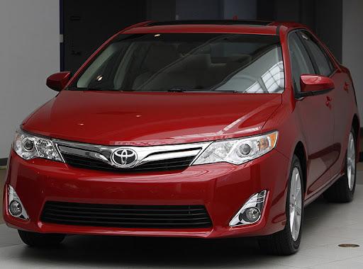 Imagens Novo Toyota Camry 2012