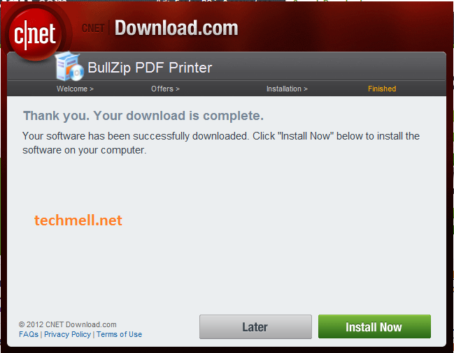 Installation of Bullzip PDF Printer in Windows 8.1