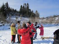 Фоторепортаж с тренинга по ньяса-йоге 12-18 февраля 2012г в Карпатах.711