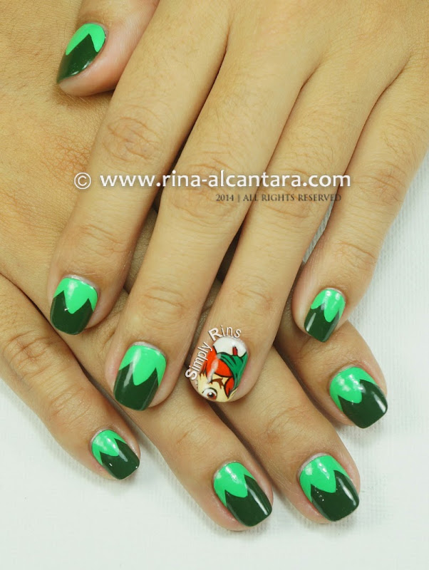 Peter Pan (A Tribute to Robin Williams) Nail Art Design by Simply Rins