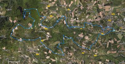 Trail de l'Abbaye de Savigny