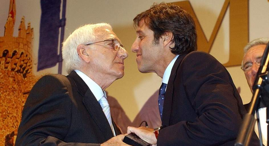 Emilio Aragón padre e hijo