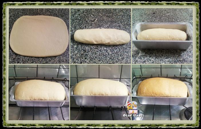 Modelando pão de forma