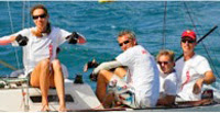 J/22 sailors enjoying Jamaica Jammin regatta!