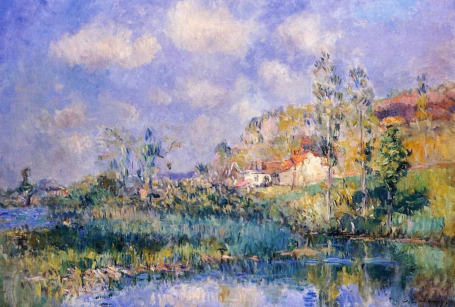 Albert Lebourg - The Pond at Eysies