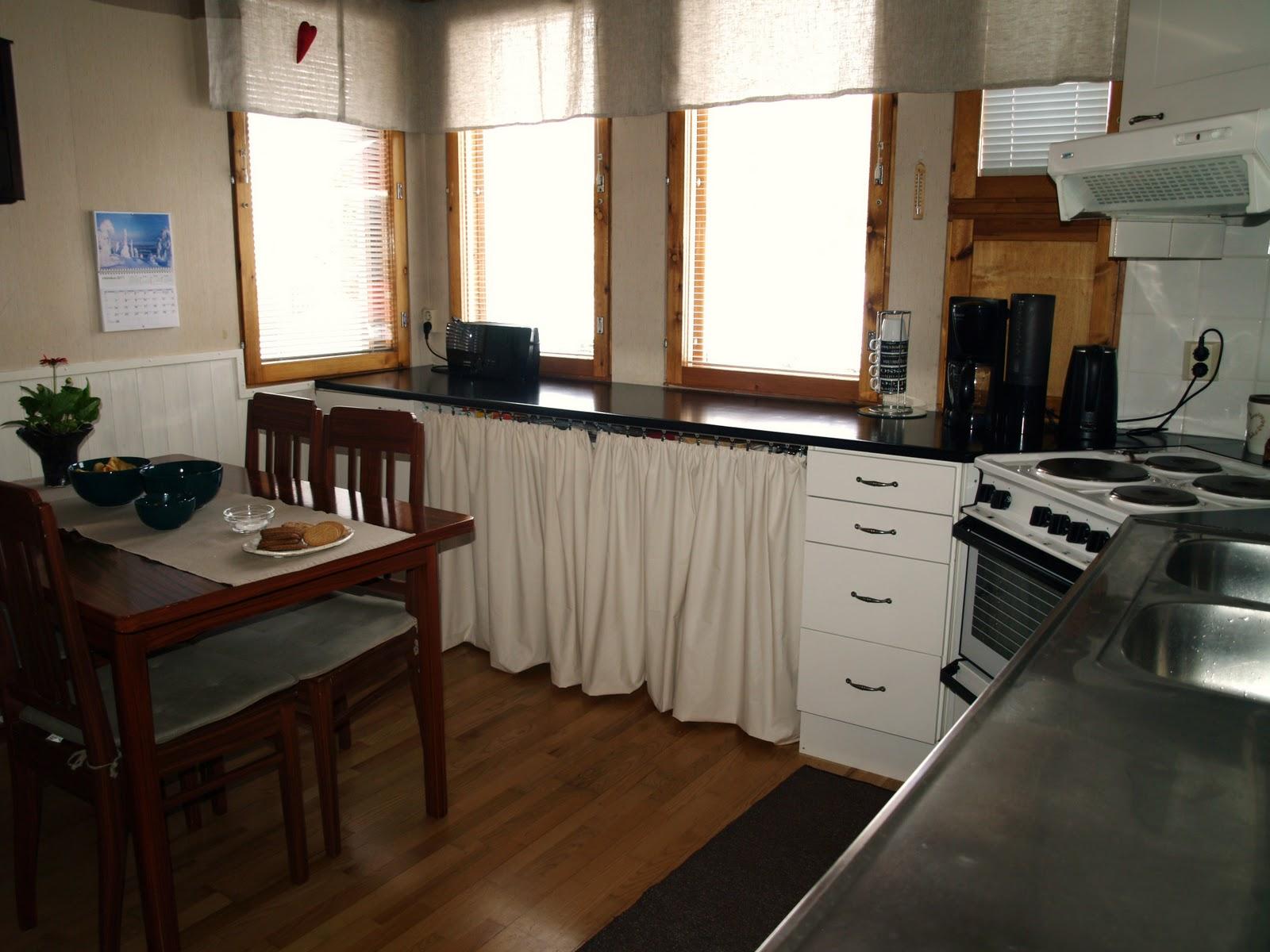 Villa Vellamo Lähes valmis keittiön tuunaus