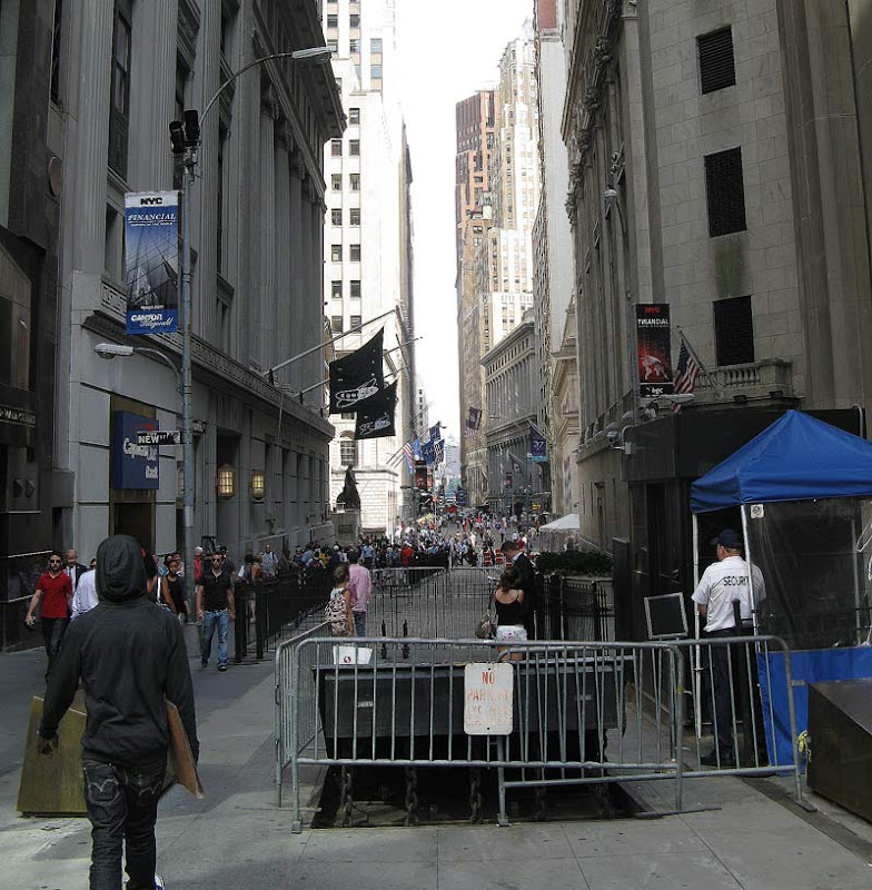 Down the Wall street