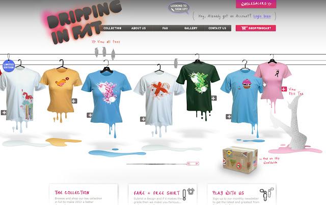 *宛如身歷其境的服飾購物網|Dripping In Fat Web Site 2