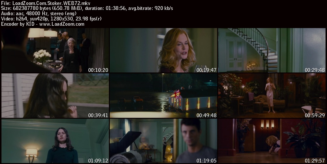 movie screenshot of stoker fdmovie.com