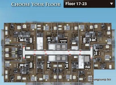 Sơ đồ mặt bằng tầng từ tầng 1 đến tầng 10