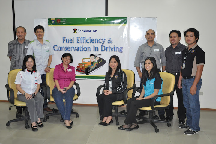 Fuel efficiency in driving seminar