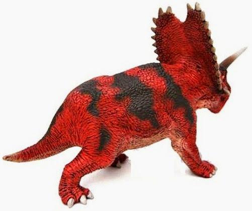 Mô hình Khủng long Schleich Pentaceratops được sơn vẽ thủ công