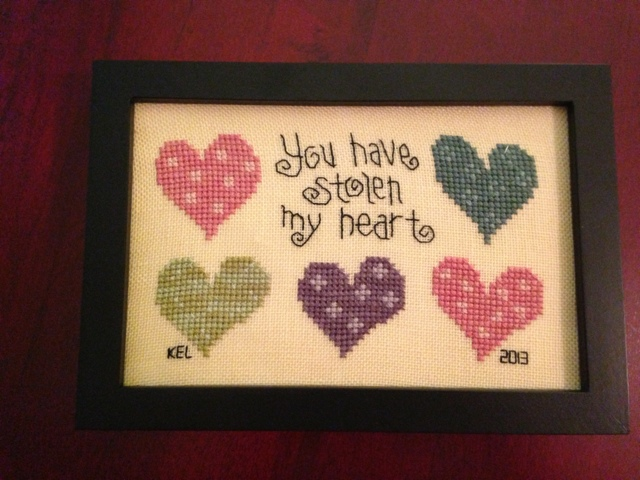 Refrigerator Magnet Godmother Godparent Quote Pink: Stitching And Other Obsessions: Finishing Cross Stitch