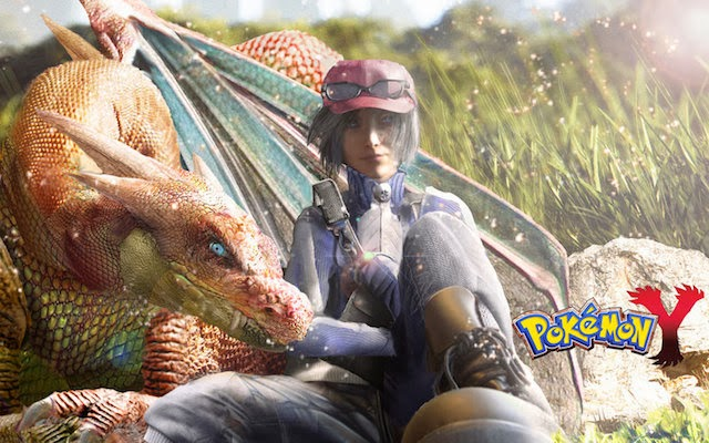 Realistic Illustrations of Pokémon X & Y Characters
