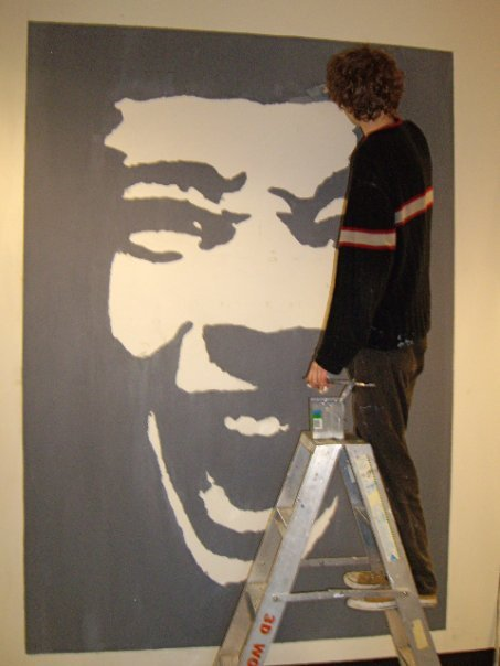 Self-portrait Mural