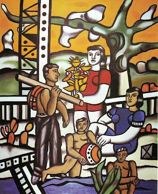 Fernand Léger - Le campeur (1954)