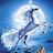 white unikorn avatar image
